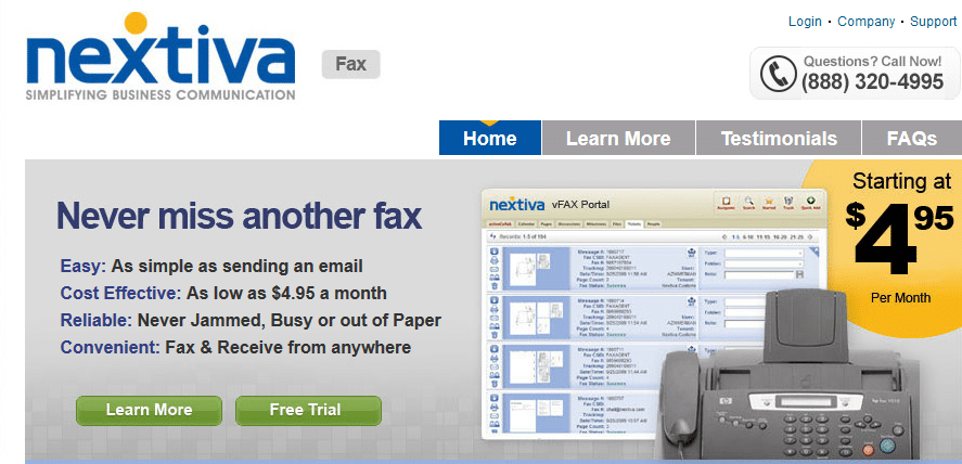 Nextiva Fax Review 2014 For Better Faxing Experience