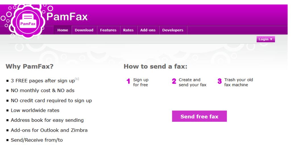 Pamfax Review – Download Pamfax Fax Software For Windows (7, 8, 8.1), Mac